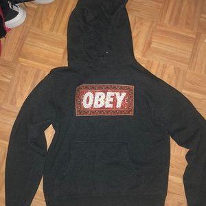 Women's obey hoodie